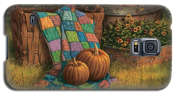 Pumpkins And Patches Galaxy S5 Case