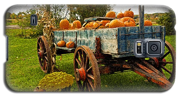 Galaxy S5 Case featuring the photograph Pumpkins by Bill Howard