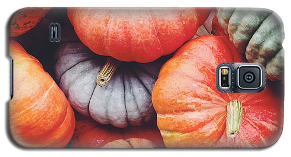 Galaxy S5 Case featuring the photograph Pumpkins Galore by Kim Fearheiley