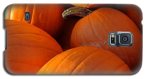 Galaxy S5 Case featuring the photograph Pumpkins by Joseph Skompski