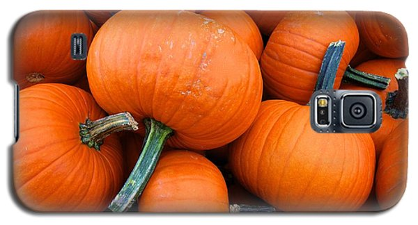 Galaxy S5 Case featuring the photograph Pumpkins  by Sarah Mullin