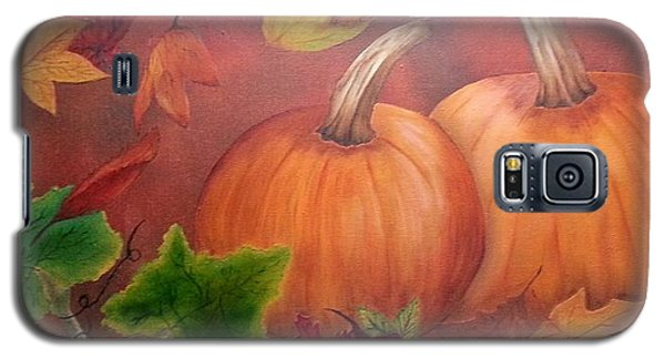 Pumpkins Galaxy S5 Case by Valorie Cross