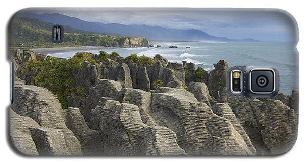 Punakaiki Pancake Rocks Galaxy S5 Case by Stuart Litoff