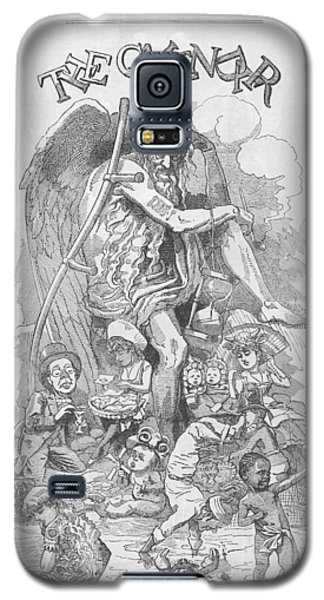 Punch's Almanack For 1885 Galaxy S5 Case