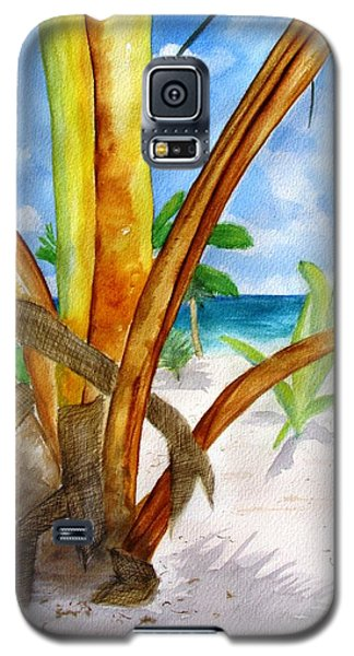 Punta Cana Beach Palm Galaxy S5 Case