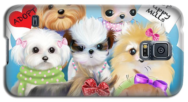 Puppies Manifesto Galaxy S5 Case