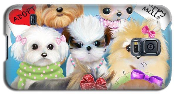 Puppies Manifesto Galaxy S5 Case