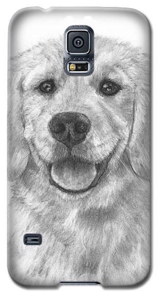 Puppy Golden Retriever Galaxy S5 Case