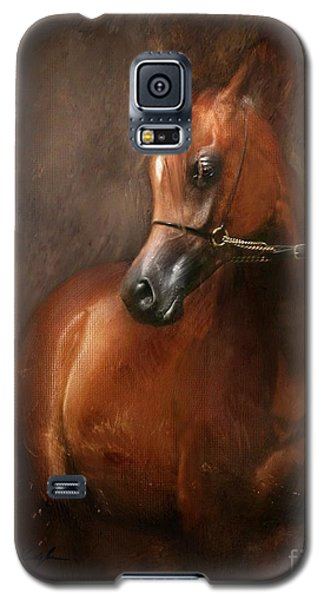 Galaxy S5 Case featuring the digital art Pure Breed by Dorota Kudyba