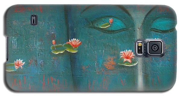 Galaxy S5 Case featuring the painting Pure Thoughts by Mini Arora