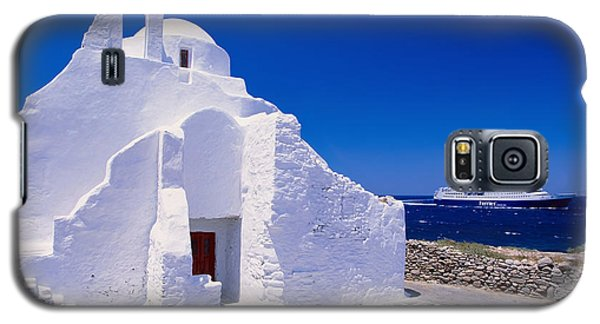 Pure White Church Galaxy S5 Case by Aiolos Greek Collections