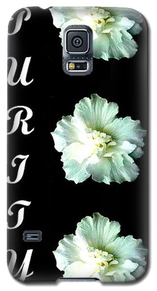 Purity Inspirational Art Collection By Saribelle Rodriguez Galaxy S5 Case by Saribelle Rodriguez
