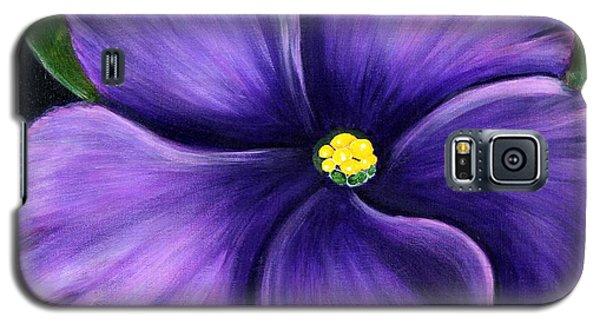 Purple African Violet Galaxy S5 Case
