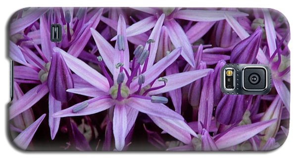 Purple Allium Galaxy S5 Case