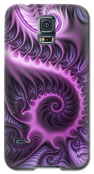 Purple And Friends Galaxy S5 Case