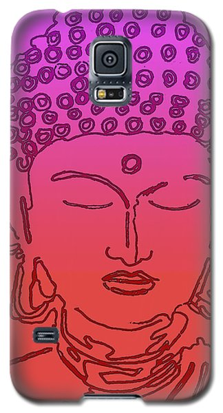 Purple And Red Buddha Galaxy S5 Case