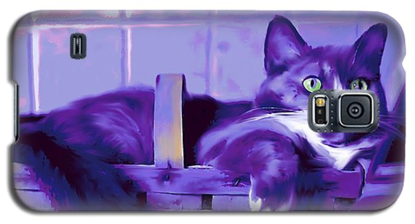 Purple Basket Case Galaxy S5 Case by Mary Armstrong