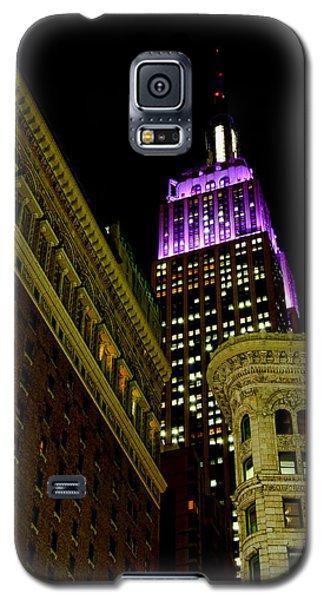 Purple Beacon Galaxy S5 Case