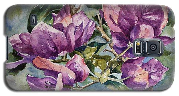 Purple Beauties - Bougainvillea Galaxy S5 Case by Roxanne Tobaison