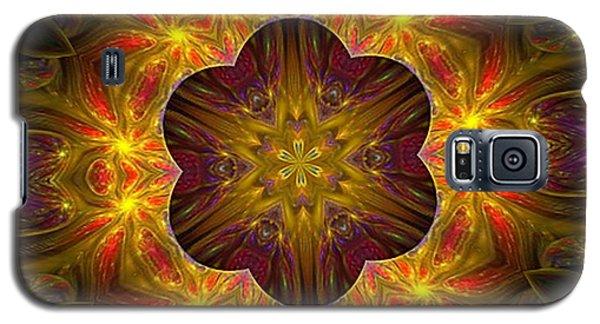 Purple Bliss Kaleidoscope Galaxy S5 Case