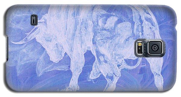Purple Bull Negative Galaxy S5 Case