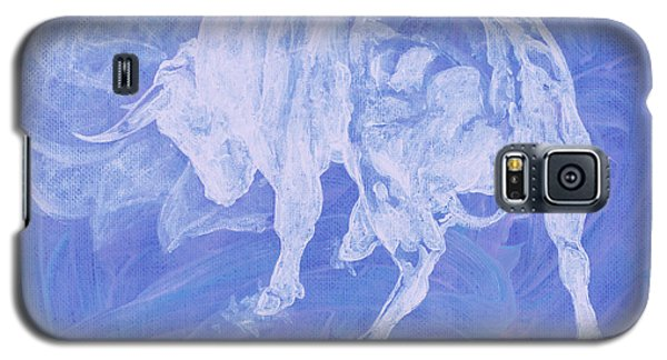 Purple Bull Negative Galaxy S5 Case