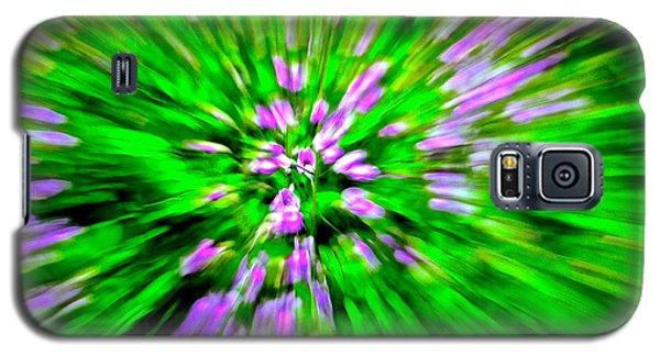 Purple Burst Galaxy S5 Case