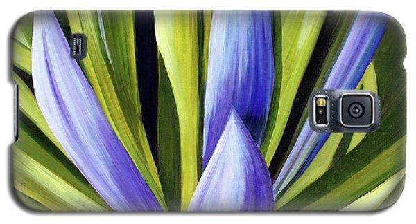 Purple Cactus Galaxy S5 Case