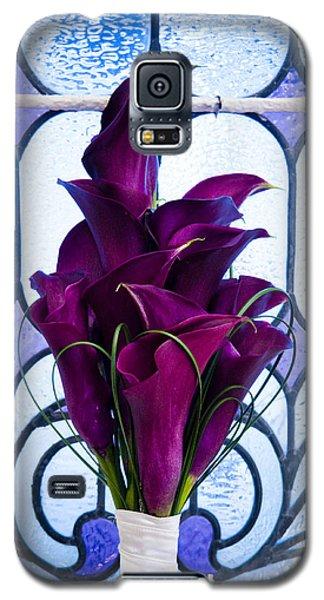 Purple Calla Lilies Galaxy S5 Case