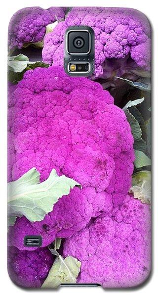 Purple Cauliflower Galaxy S5 Case by Susan Garren