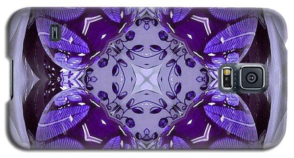 Purple Ceramic Works Galaxy S5 Case