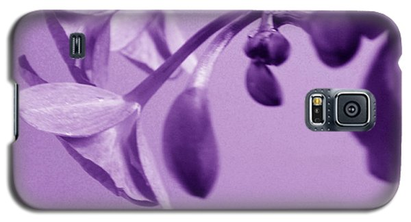 Purple Charm Galaxy S5 Case