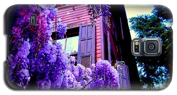 Galaxy S5 Case featuring the photograph Purple Cheer by Zafer Gurel
