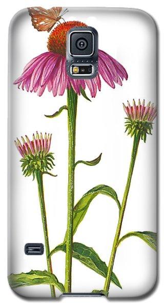 Purple Coneflower - Echinacea Purpurea  Galaxy S5 Case