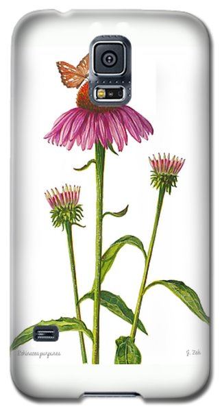Purple Coneflower - Echinacea Purpurea  Galaxy S5 Case