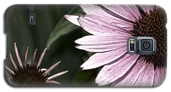Purple Coneflower Imperfection Galaxy S5 Case