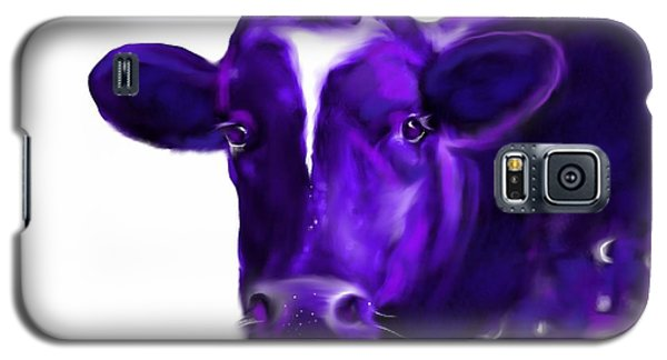 Purple Cow Galaxy S5 Case by Mary Armstrong