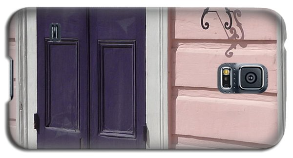 Galaxy S5 Case featuring the photograph Purple Door by Valerie Reeves