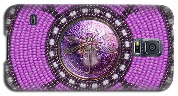 Purple Dragonfly Galaxy S5 Case