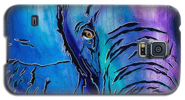 Purple Elephant Galaxy S5 Case