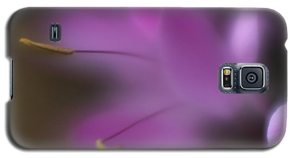 Galaxy S5 Case featuring the photograph Purple Essence by Mary Lou Chmura