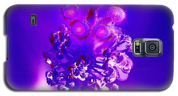 Purple Eyes  Galaxy S5 Case