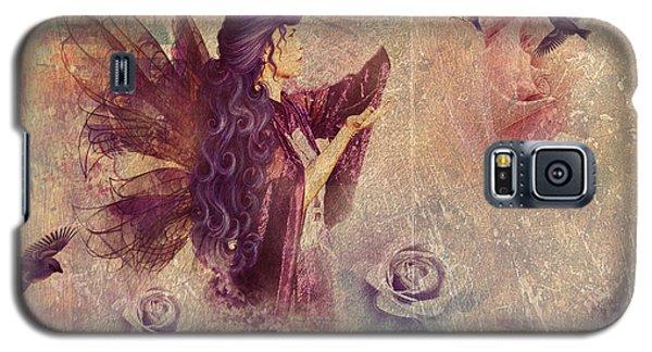 Purple Fairy Galaxy S5 Case