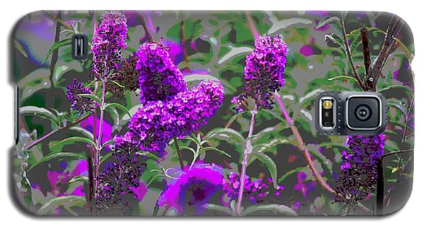 Galaxy S5 Case featuring the photograph Purple Flowers by Suzanne Powers
