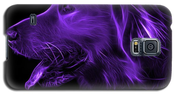 Purple Golden Retriever - 4047 F Galaxy S5 Case