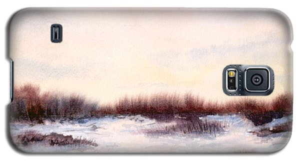 Galaxy S5 Case featuring the painting Purple Haze by Vikki Bouffard