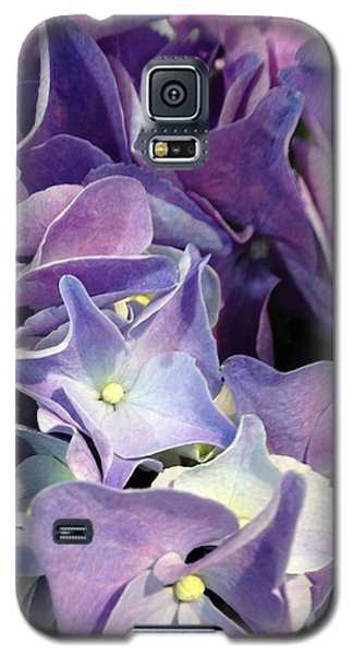 Purple Hydrangeas Galaxy S5 Case