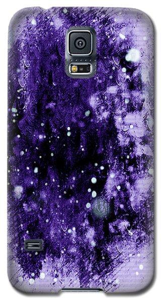 Purple Impression Galaxy S5 Case