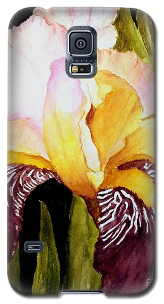 Purple Iris Galaxy S5 Case by Carol Grimes