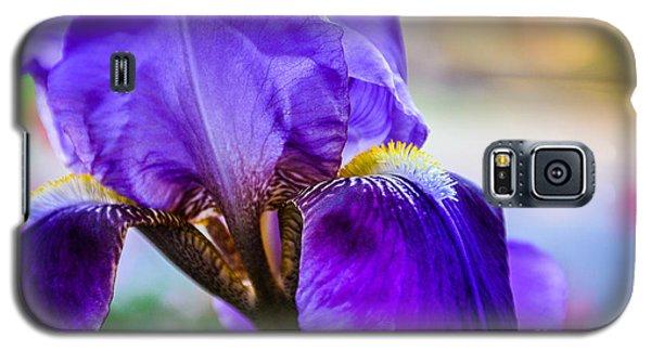 Purple Iris Galaxy S5 Case